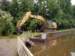 Hochwasserschaden wird behoben